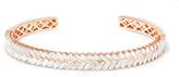 Anita Ko 18-karat Rose Gold Diamond Cuff - one size