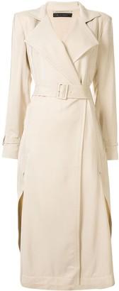 Roland Mouret Elbury twill coat