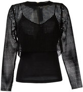 Diane von Furstenberg sheer top - women - Silk/Polyester/Acetate/Viscose - 2
