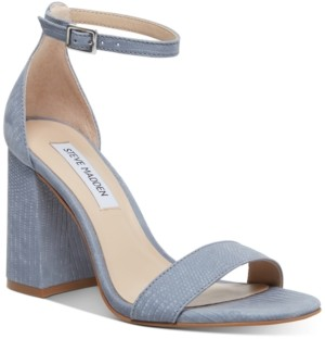 Steve Madden Dillion Block-Heel Two-Piece Sandals