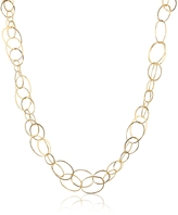 Orlando Orlandini Scintille - 18K Yellow Gold Chain Necklace