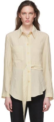 Nanushka Beige Mara Shirt