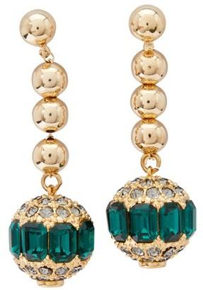 Erdem Brass earrings