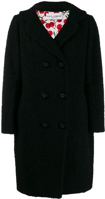 Dolce & Gabbana Pre Owned '2000s Double-Breasted Coat