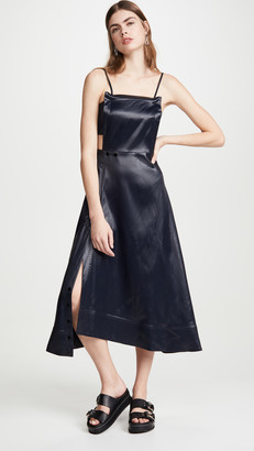 3.1 Phillip Lim Lacquered Cutout Dress