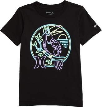 Hurley Perch Glow in the Dark Graphic Tee