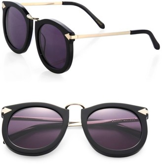 Karen Walker Super Lunar 53MM Cat's-Eye Sunglasses