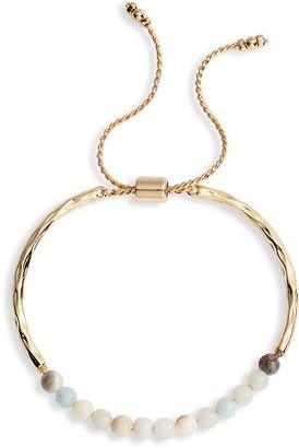 Sterling Forever Stone Slider Bracelet