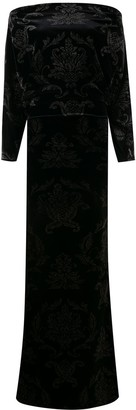 Le Petite Robe Di Chiara Boni Velvet Maxi Dress