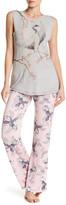 PJ Salvage Take Flight Swan Print Knit Lounge Pants