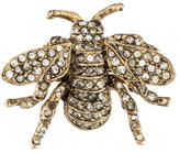Kenneth Jay Lane Crystal Bee Brooch