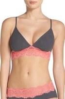 Cosabella Women's Paul & Joe X Chantal Lace Triangle Bralette