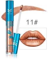 New Holographic Lip Gloss Metallic Diamond Lasting Lipstick Shine Holo Glam by XILALU