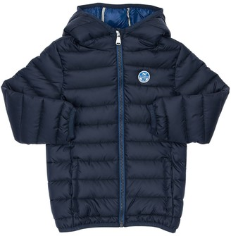 North Sails Hooded Nylon Puffer Jacket