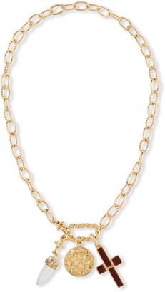 Gas Bijoux Constantine Charm Collar Necklace