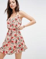 Oasis Tropical Print Cami Dress