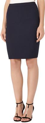 Reiss Faulkner Tailored Wool-Blend Skirt