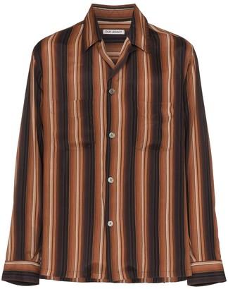 Our Legacy Multi Stripe Print Shirt