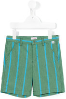 Il Gufo striped shorts - kids - Cotton/Polyamide/Spandex/Elastane - 2 yrs