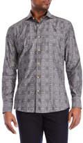 Bogosse Grey Jacquard Sport Shirt