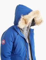 Canada Goose Blue Fur-Trimmed Chilliwack Bomber Jacket