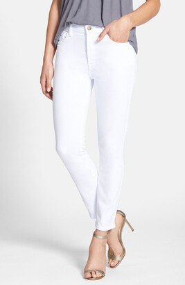 JEN7 by 7 For All Mankind Stretch Crop Skinny Jeans