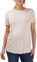 Topshop MATERNITY Step Hem T-Shirt