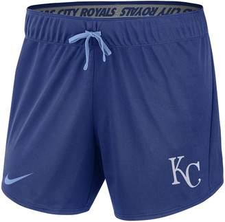 Nike Women's Royal Kansas City Royals Performance Team Shorts