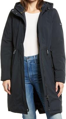 Joules Charlbury Wateproof Insulated Hooded Raincoat