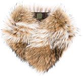 Mr & Mrs Italy - fur collar - women - Racoon Fur - One Size