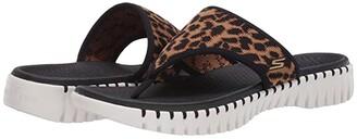 SKECHERS Performance Go Walk Smart - Wild (Black/Brown) Women's Sandals