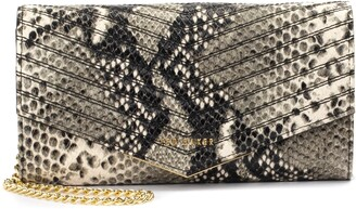 Ted Baker Ladora Exotic Quilted Wallet on a Chain