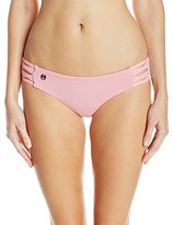 Maaji Women's Blush Sundown Reversible Bikini Bottom