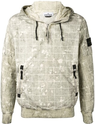 Stone Island Ghillie Camo print hoodie