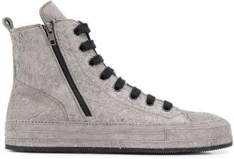 Ann Demeulemeester ankle lace-up sneakers