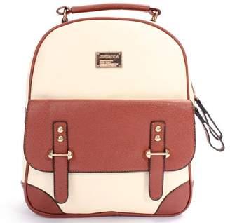 Ldpt LDPT Women's Backpack Leather Travel School Backpack Shoulder Handbag