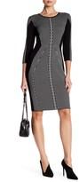 Taylor Stripe Hourglass Sweater Dress