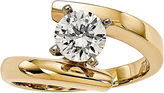 MODERN BRIDE 1 CT. Diamond 14K Yellow Gold Solitaire Ring