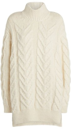 Simone Rocha Oversized Cable-Knit Sweater