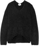 Acne Studios Deborah Alpaca And Wool-blend Sweater - Black