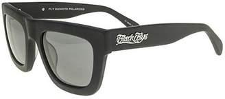 Black Flys Unisex-Adult Fly Bandito Polarized Wayfarer Sunglasses