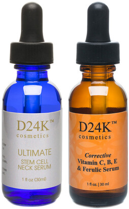D24K by D'OR D'or 24K Ultimate Stem Cell Neck 1Oz Serum & D24k Corrective 1Oz Serum