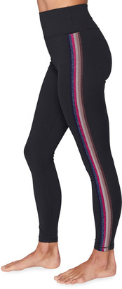 Spiritual Gangster Essential High-Waist Leggings with Taping
