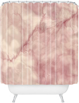 Deny Designs Marble Shower Curtain