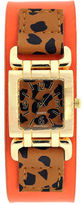 JCPenney FASHION WATCHES Mixit Womens Animal Print Square Dial Watch
