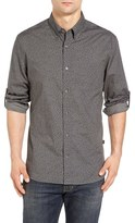 John Varvatos Trim Fit Print Sport Shirt