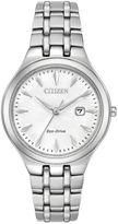 Citizen Womens Silver Tone Strap Watch-Ew2490-55a