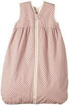 LANA natural wear Baby Girls Schlafsack BW-Fleece Punkte Polka Dot Sleeping Bag