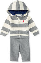 Ralph Lauren Cotton Terry Hoodie & Pant Set