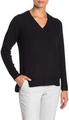 Susina Cozy Portrait V-Neck Sweater (Regular & Petite)